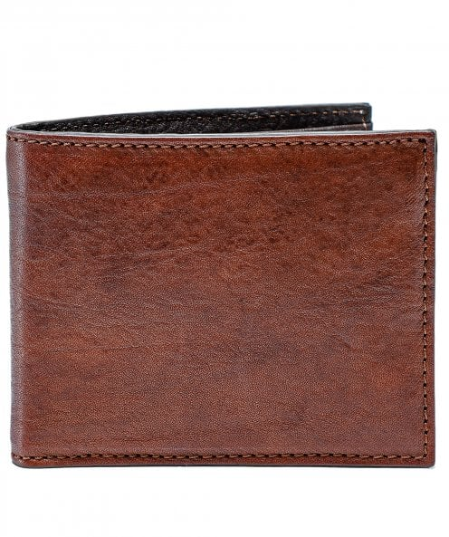 Campomaggi Leather Two Tone Coin Wallet