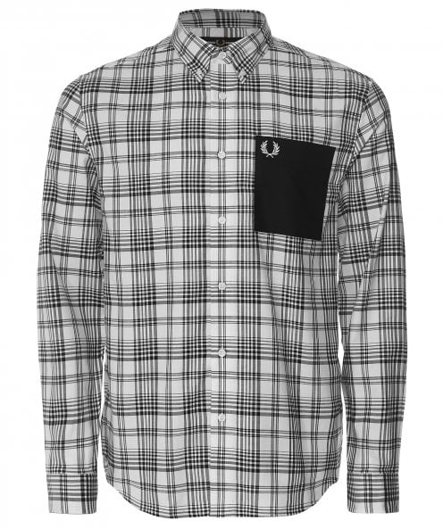 Fred Perry Check Patch Pocket Shirt M1505 129