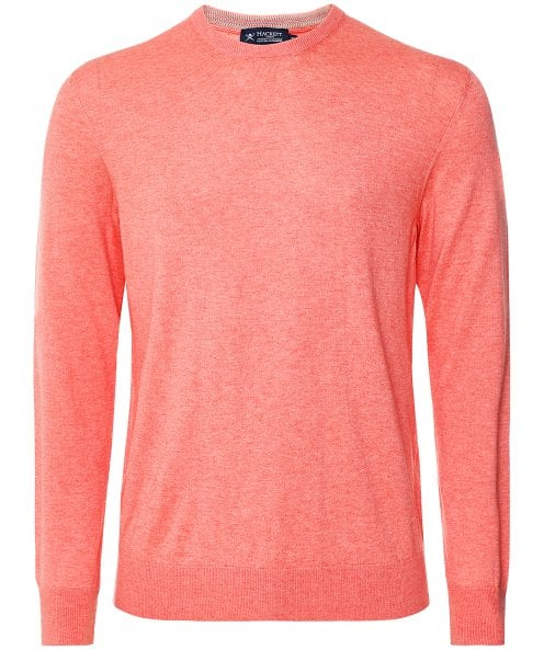 Hackett Cotton Cashmere Crew Neck Jumper