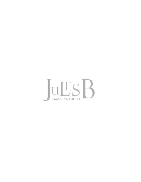Hackett Linen Striped Placket Polo Shirt