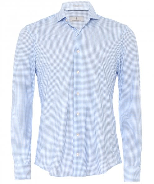 Thomas Maine Tailored Fit Houndstooth Roma Shirt