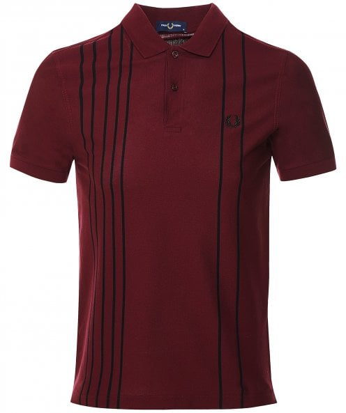 Fred Perry Refined Stripe Polo Shirt M1606