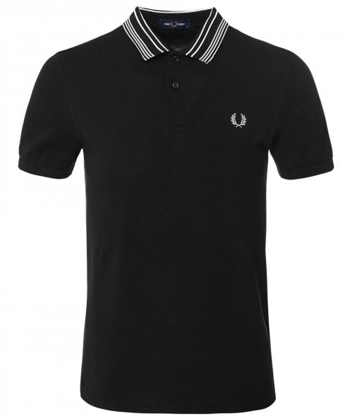 Fred Perry Striped Collar Polo Shirt M1695 102