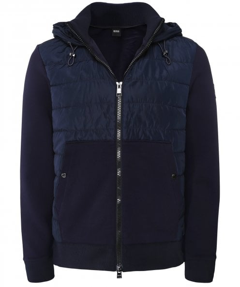 BOSS Quilted Front Seeger 41 Sweatshirt