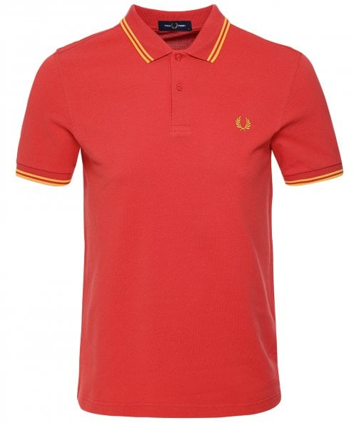 Fred Perry Twin Tipped Polo Shirt M3600 A67