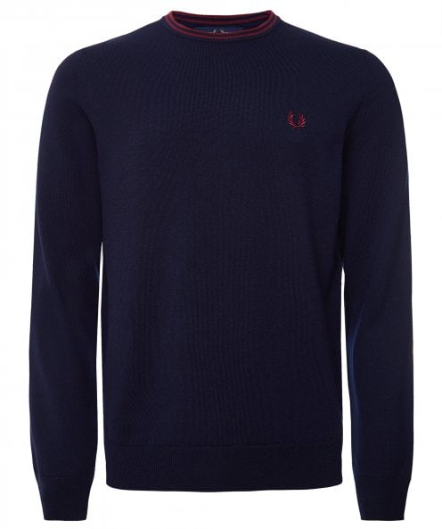 Fred Perry Classic Crew Neck Jumper K9601 264
