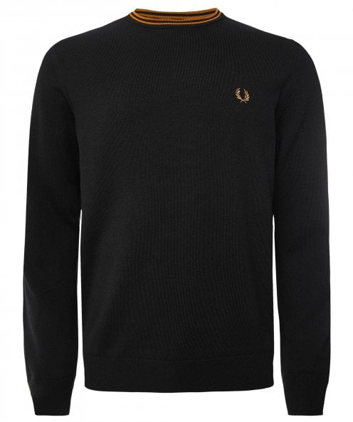 Fred Perry Classic Crew Neck Jumper K9601 P11