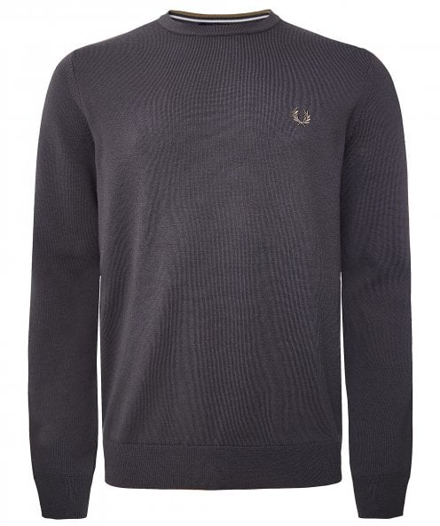 Fred Perry Classic Crew Neck Jumper K9601 G85