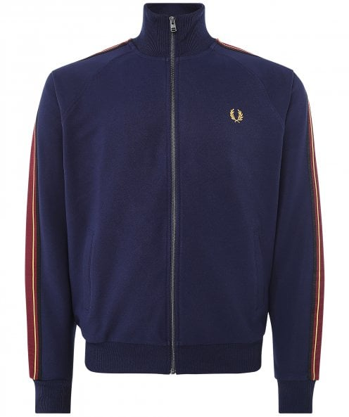 Fred Perry Striped Tape Track Jacket J2536 395