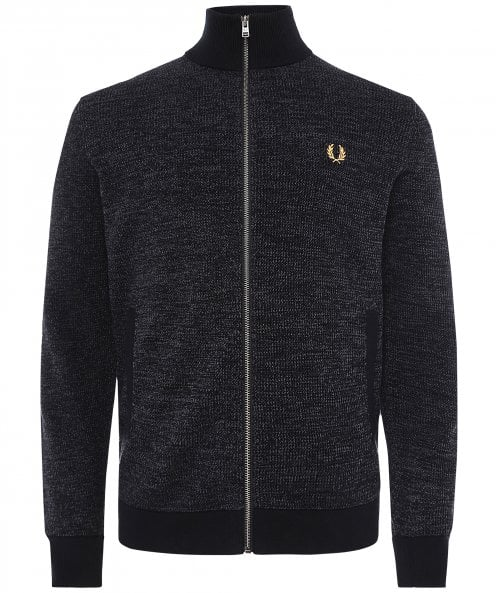 Fred Perry Textured Zip-Through Cardigan K2551 102