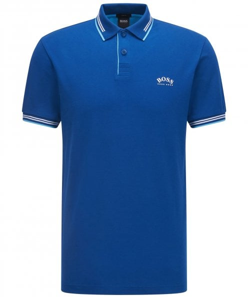 BOSS Slim Fit Paul Curved Polo Shirt