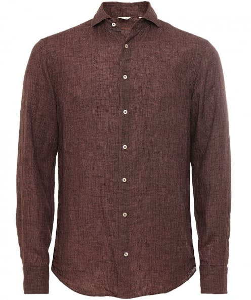 Stenstroms Fitted Linen Shirt